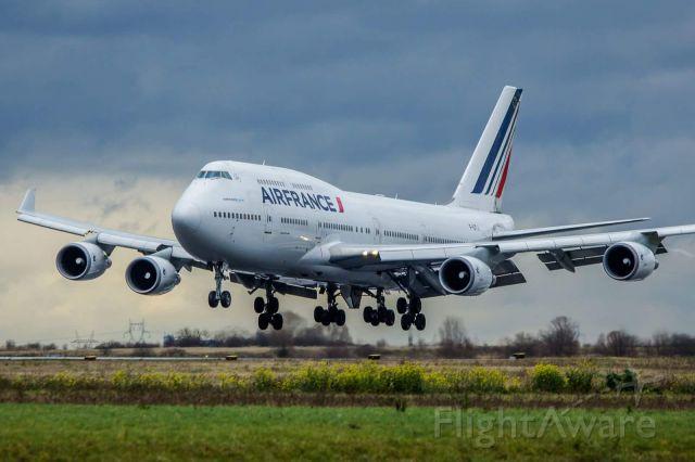 Boeing 747-400 (F-GITJ) - Dernier vol du Boeing 747 AF ! Last flight of the Boeing 747 Air France