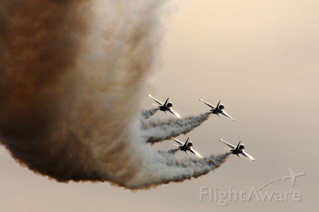 "— — - 2011 Seoul International Aerospace and Defense Exhibition.<br />Republic of Korea Air Force Demonstration Team ""Black Eagles"""