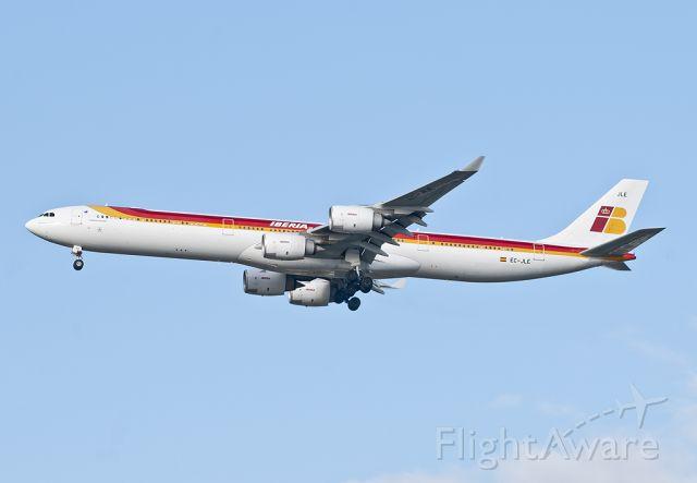 — — - IBE6251 LEMD-KJFK landing 31R