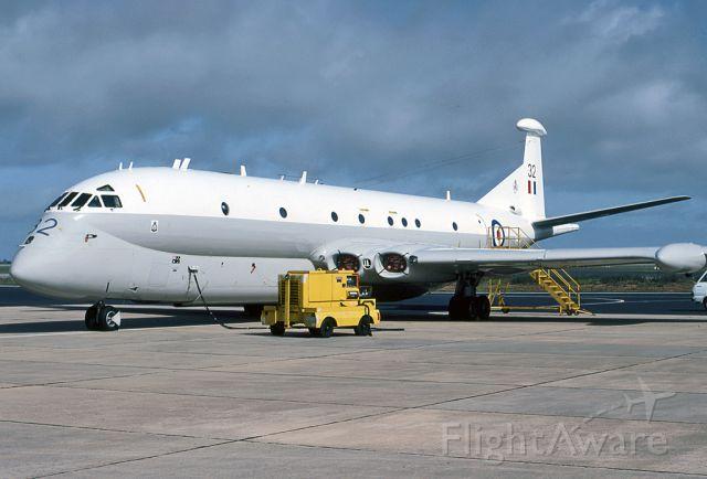 XV232 — - UK - AIR FORCE - HAWKER SIDDELEY NIMROD MR2 (801) - REG XV232 (CN 8007) - EDINBURGH RAAF ASE ADELAIDE SA. AUSTRALIA - YPED (8/10/1981)