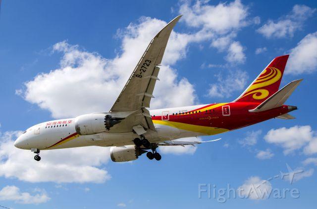 Boeing 787-8 (B-2723) - Hainan Airlines 787 B-2723 landing Toronto