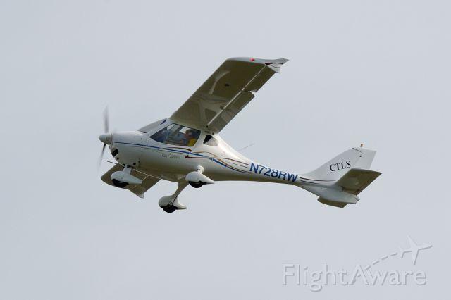 N728RW — - Departing Runway 26 at KBTP