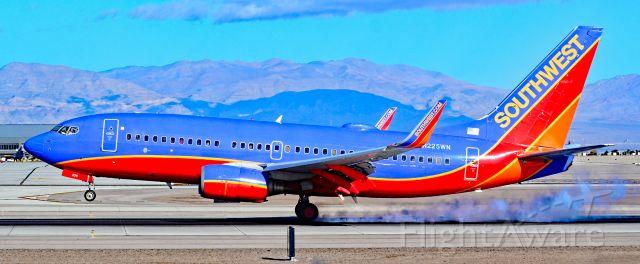Boeing 737-700 (N225WN) - N225WN Southwest Airlines 2005 Boeing 737-7H4 (cn 34333/1820) - Las Vegas - McCarran International (LAS / KLAS)<br />USA - Nevada,  January 18, 2019<br />Photo: TDelCoro