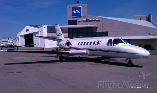 Cessna Citation V (N500DW)