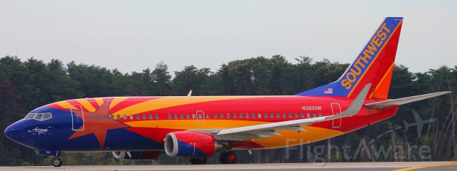 BOEING 737-300 (N383SW) - 10/9/15<br />BWI to MHT<br />Flight 887