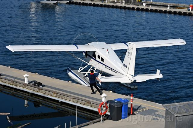 De Havilland Canada DHC-2 Mk1 Beaver (C-GDTB) - yes, that is how you turn a floatplane