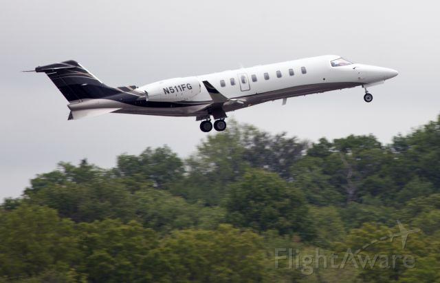 Learjet 45 (N511FG) - Powerful take off RW16.