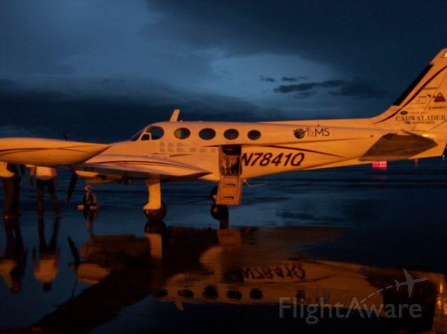 Cessna 340 (N7841Q) - Sept-2010, @ BIRK