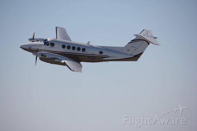 Beechcraft Super King Air 200 (N48CV) - Executive Air Taxi King Air 200 based in Bismarck, ND  Taken 6/26/2012