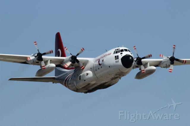 Lockheed C-130 Hercules — - 25 july 2015 The Turkish Stars aerobatic team