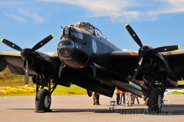 — — - Avro Landcaster Mk X