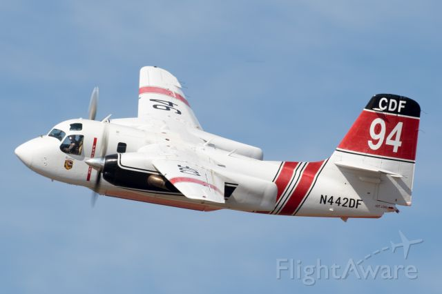 MARSH Turbo Tracker (N442DF) - Tanker 94 departing yesterday afternoon for the Klamath Fire down in Siskiyou County.