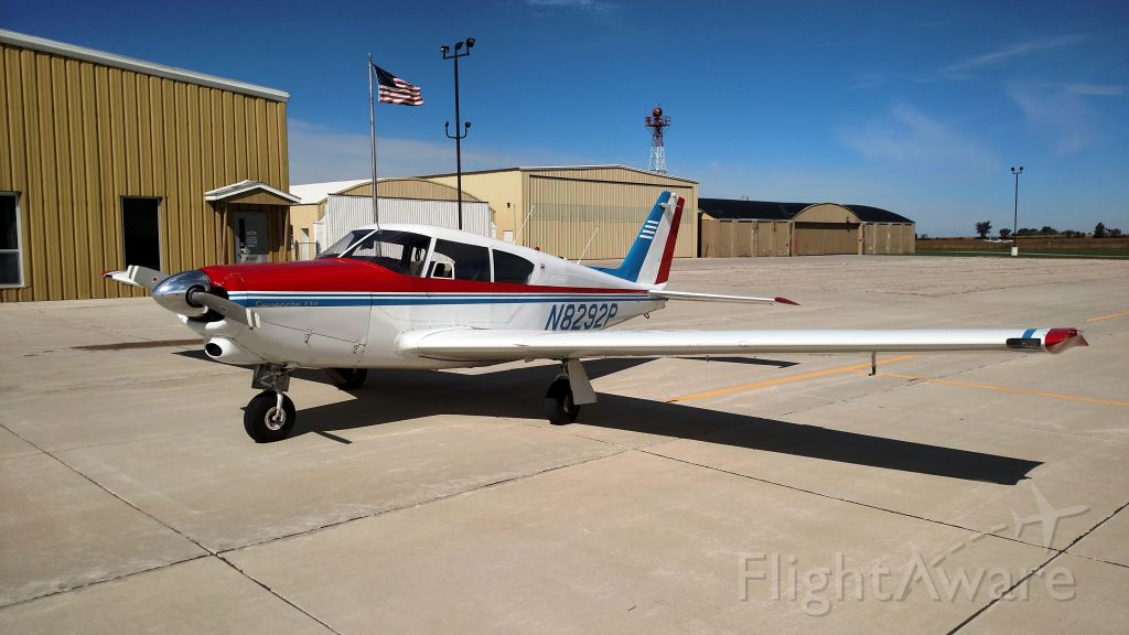 Piper PA-24 Comanche (N8292P) - 1963 PA24-250 sitting pretty on the CCY ramp.