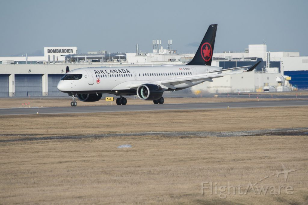 — — - dang it i didn't get the tail number if you figure it out can you comment it plz, but wow i flew air Canada a220 business class from Toronto to Winnipeg, great airplane