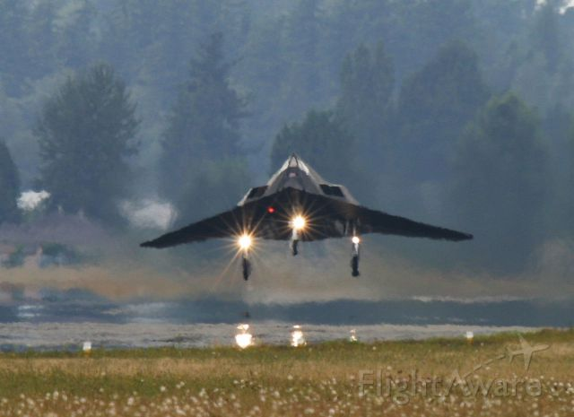 Lockheed Nighthawk — - Take off final Abbotsford apearence