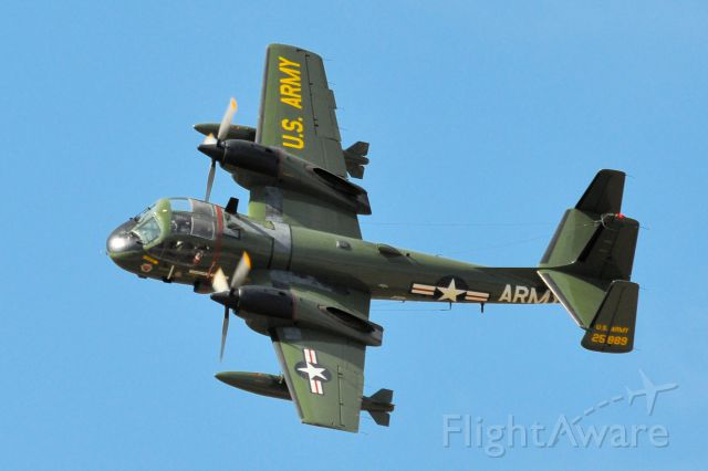 — — - Cavanaugh Flight Museum Grumman Mohawk at the Alliance Air Show