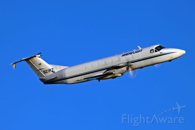 Beechcraft 1900 (N21RZ) - Thanks for keeping it low on departure Jared Romanowicz!