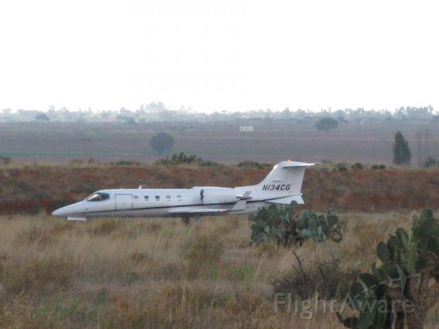 Learjet 31 (N134CG) - Taking Off Runway 20