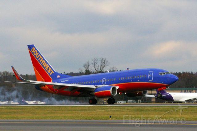 Boeing 737-700 (N402WN) - RWY 19 11/13/11