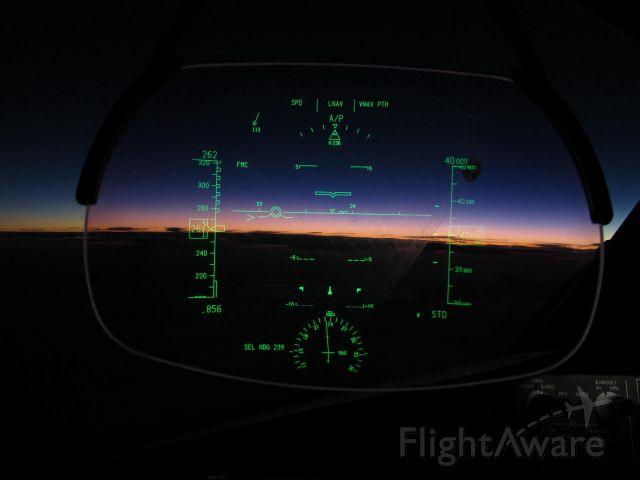 Boeing 787-8 (N965AM) - my first solo flight