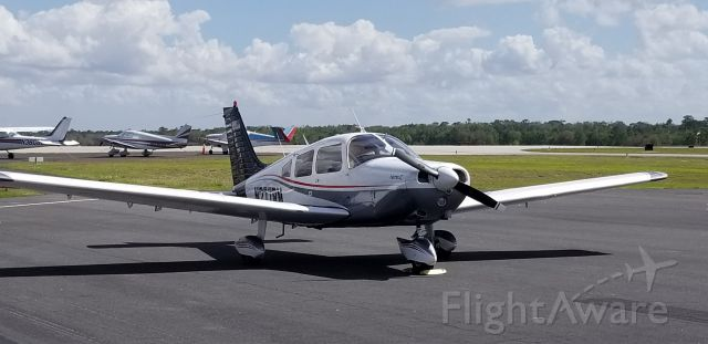 Piper Cherokee (N277RM) - GETTING FUEL AT BARTOW FLORIDA
