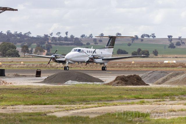 Beechcraft Super King Air 200 (VH-WXO) - Austrek Air Charter (VH-WXO) Beechcraft B200 Super King Air at Narrandera Airport