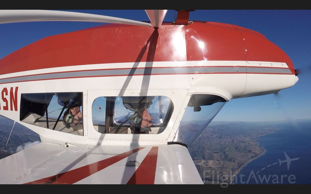 CHAMPION Sky-Trac (N5525K) - The Citabria sometimes flips upside down for no reason...:)