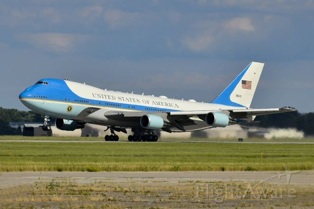 N29000 — - VC-25A Taking off from Selfridge ANG Base in Michigan, USA.