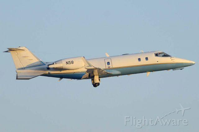 Learjet 60 (N58) - Federal Aviation Administration Learjet 60 N58