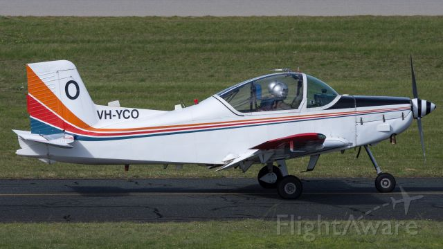 PACIFIC AEROSPACE CT-4 Airtrainer (VH-YCO)
