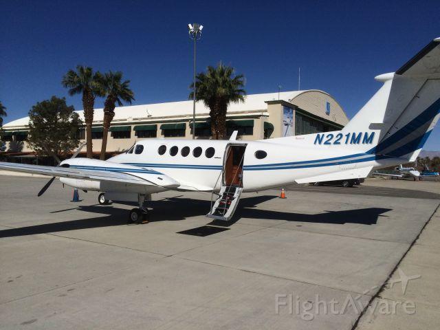 Beechcraft Super King Air 300 (N221MM) - KTRM