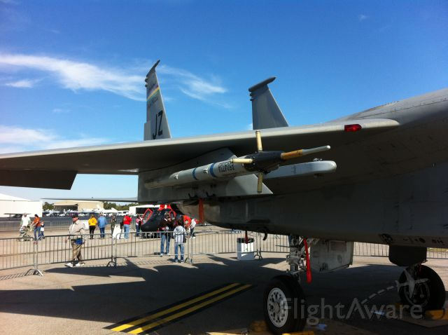 McDonnell Douglas F-15 Eagle (VOODOO1) - 159th Fighter wing at Klft for the Airshow Jazz,Rex,Voodoo.