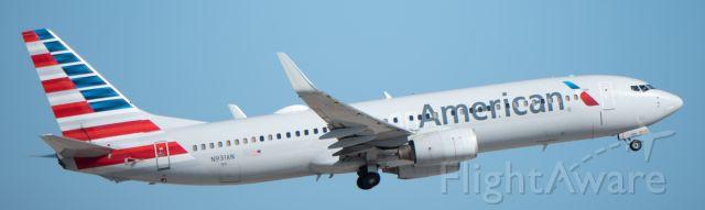 Boeing 737-800 (N931AN) - 10-19-2018