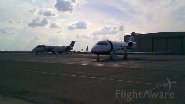 — — - Sorry for crappy quality...best I could get off a cell phone! CRJ200 and CL60