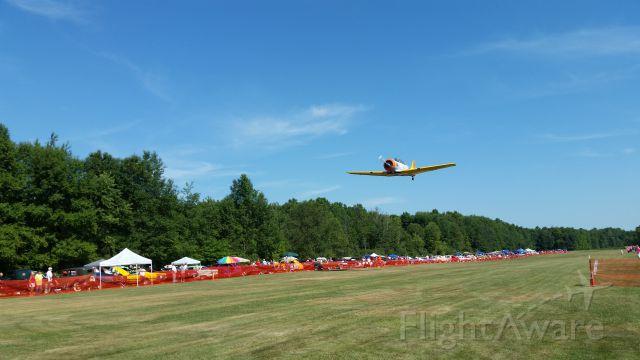 — — - Wings & Wheels 2015 @ Sloas Airfield Warren, OH <br />one of 2 NICE SNJs