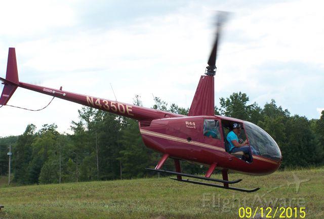 Robinson R-44 (N435DE) - Photo taken at the Scott County, Oneida Tennessee Air Show.