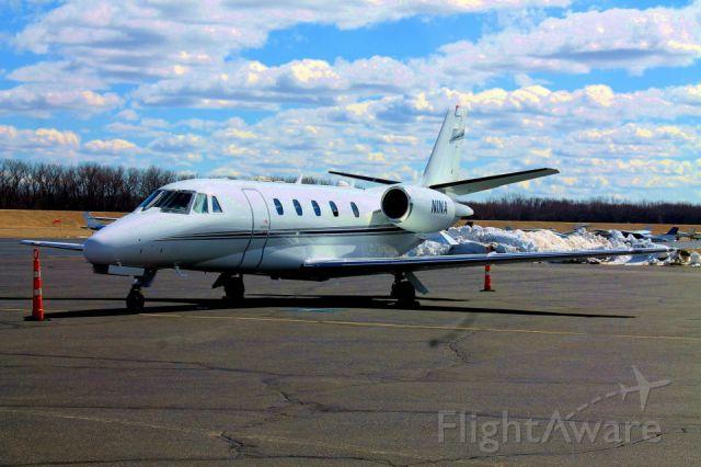 Cessna Citation Excel/XLS (N1NA) - N1NA parked at Atlantic Aviation.