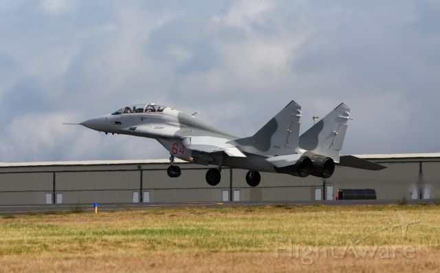 N29UB — - Mig-29UB From Historic Flight at Paine Field Everett WA landing at Paine Field after a test flight.