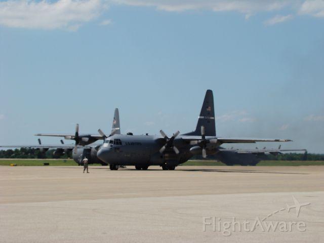 Lockheed C-130 Hercules — - C-130s leaving Salina, Kansas on 06212009