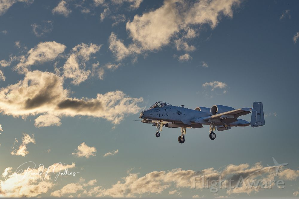 — — - Fairchild Republic A-10 Thunderbolt II