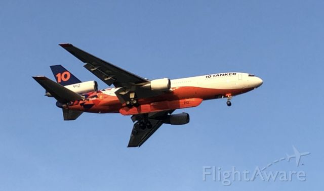 McDonnell Douglas DC-10 (N522AX) - Spotted the DC-10 tanker of 912 with a new fire livery!