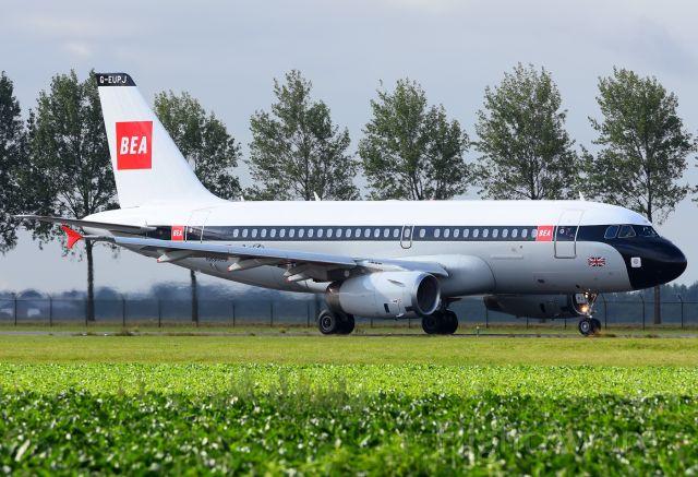Airbus A320 (G-EUPJ)
