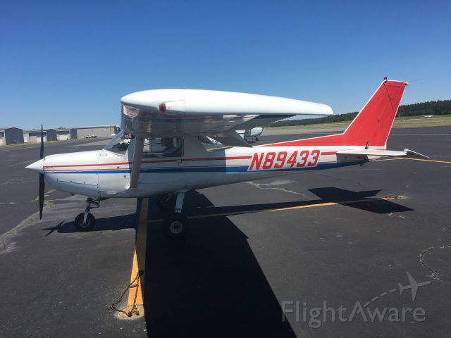 Cessna 152 (N89433) - Took my dad flying again, this time to Southern Pines (SOP) and back! May 1, 2021.