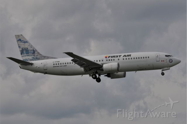 BOEING 737-400 (C-FFNM) - First time for First Air to be at IND Possibly?