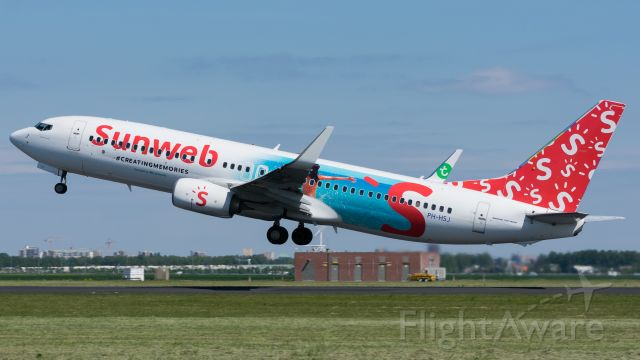 Boeing 737-800 (PH-HSJ)