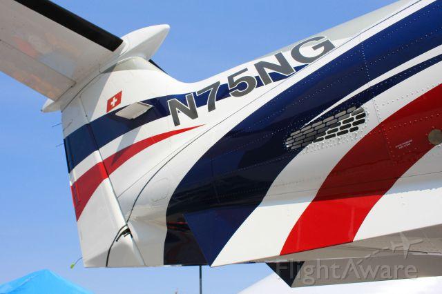 Pilatus PC-12 (N75NG)