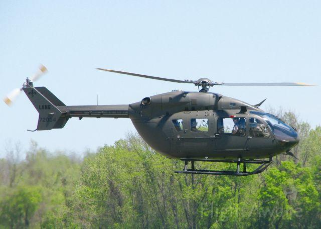 Eurocopter EC-635 (0772034) - At Downtown Shreveport.