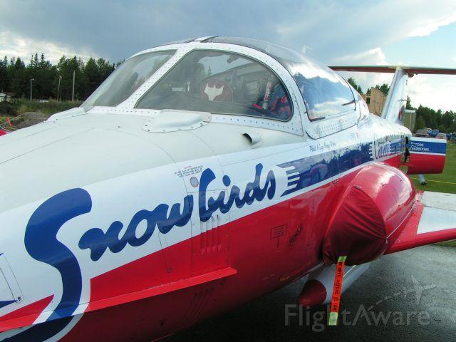 SNOWBIRDS — - Snowbirds CT-114 at Rocky Mountain House Air Show 2006