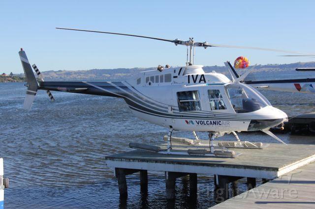 ZK-IVA — - Bell 206B Jetranger<br />Lake Rotorua, NZ<br />Photo: 05.01.2017