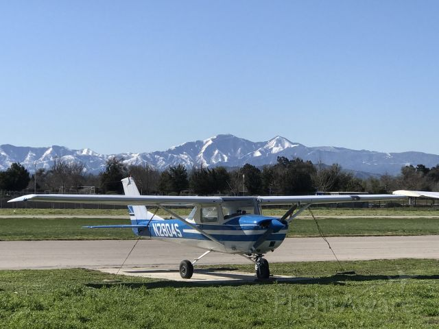 Cessna Commuter (N2804S) - Beautiful winter day at Flabob